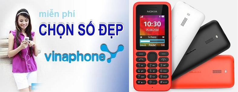 VinaPhone quan 6 Dang ky sim VinaPhone tang dien thoai Nokia