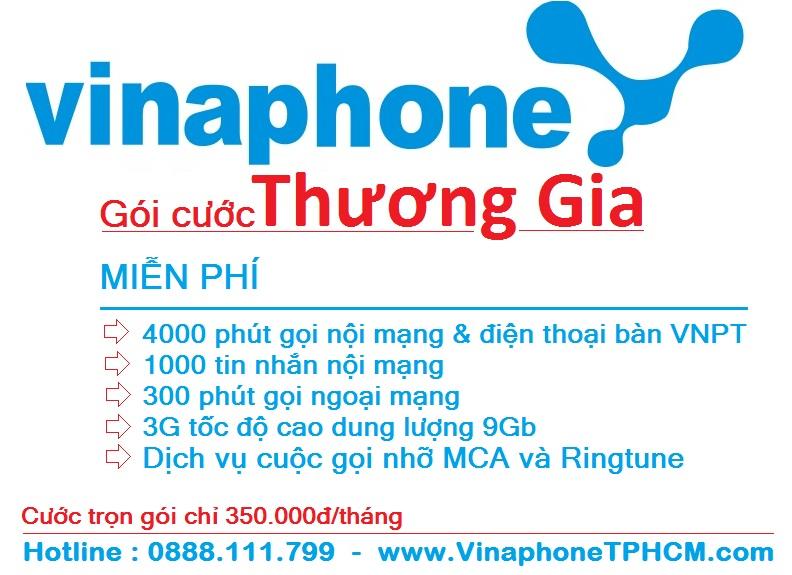 Chuyen sim VinaPhone tra truoc sang tra sau goi mien phi 4000 phut